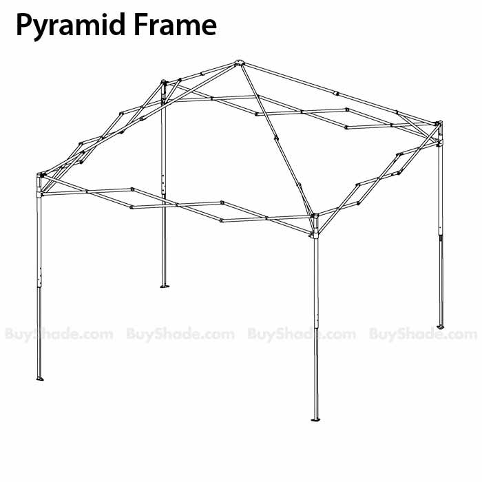 Pyramid Iii 10x10 Replacement Frame